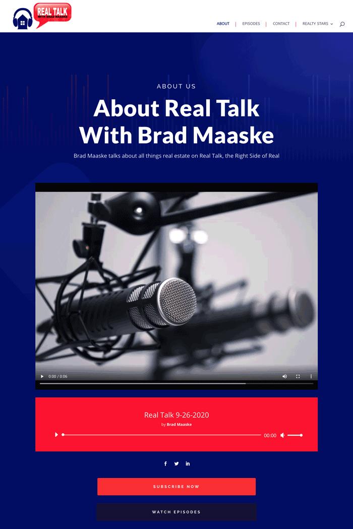 Real Talk with Brad Maaske